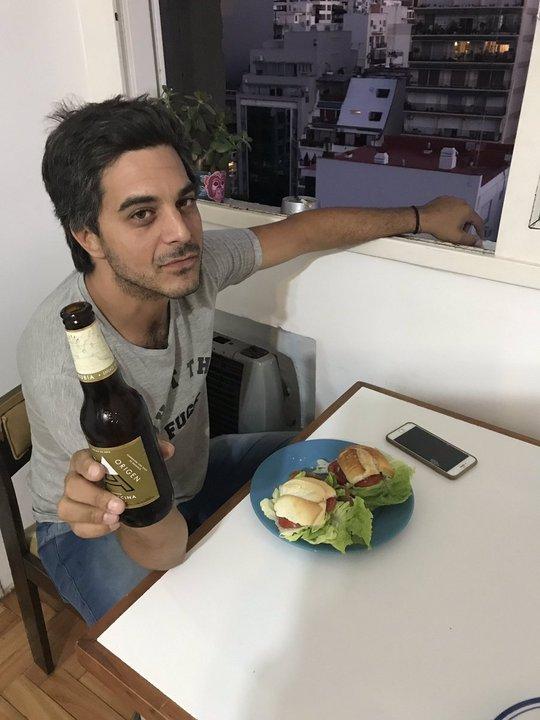 La foto de Pablo Yatoch que subió Jaitt a su cuenta de Twitter
